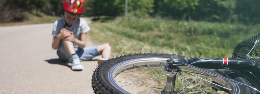 Accidente entre ciclistas: qué pasa con el seguro